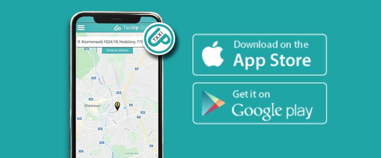 Aplikace pro objednání levného taxi v Olomouci